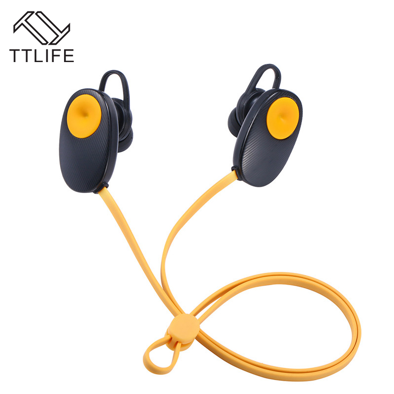 Original TTLIFE Brand New Sports Bluetooth Earphone Wirless Earbuds Handfree Neckband Running Earpiece For Ios Android mp3<br><br>Aliexpress