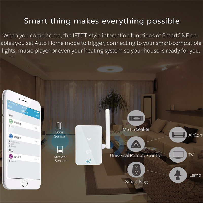 Broadlink S1C Smart One Wireless Alarm&Security Kit Detector Sensor For IOS Android Wifi Remote Control Smart Home Automation