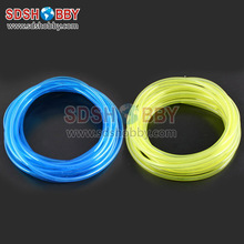 7*4mm 100 Meter Fuel Line/ Fuel Pipe for Gas Engine/ Nitro Engine-Yellow/ Blue Color