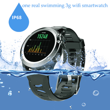 2017 best 3G Network WIFI GPS Smart Watch Waterproof IP68 WristWatch Heart Rate Monitor 500W camera Smart Watch phone watch
