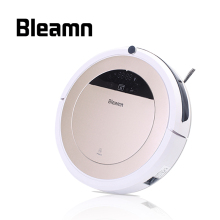 Bleamn Mini Low Noise Robot Vacuum Cleaner For Home 600ml Water Tank HEPA Filter SelfCharge Floor Cleaning Aspirador B-Q75 85(China)