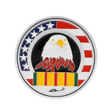 Welcome Home Brother Silver Plated Commemorative Challenge Coin Art Collectible-P101(China)