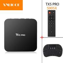 Buy TX5 Pro Android 6.0 TV BOX 2G/16G Amlogic S905X Quad Core 64bit Media Player HD 4K Fully H.265 Dual WiFi Kodi 16.1 smart TV box for $55.25 in AliExpress store