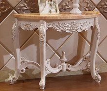 Luxury Design Solid Wood Entrance Console Table(China)