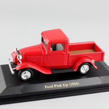 Children 1:43 Scale brand mini classic vintage 1934 Ford Pickup pick up old truck diecast metal model Auto vehicle car boys toy(China)