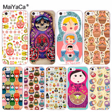 MaiYaCa Russian craft matryoshka doll Special Offer phone case for iPhone 8 7 6 6S Plus X 10 5 5S SE 5C 4 4S Coque Shell(China)