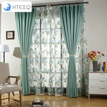 High-quality Room Darkening Thermal Insulated Blackout Grommet Window Curtain For Living Room
