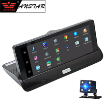 "Anstar 7"" Touch Android 3G Rearview Mirror DVR GPS WIFI Car Video Recorder Auto Dashcam Camera Car Camera Dual Lens dvrs 1080P(China)"