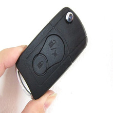 Ssang Yong Modified Flip Remote Key Shell Flip Key Shell Modified for SSANGYONG Actyon Kyron Rexton 2 Button