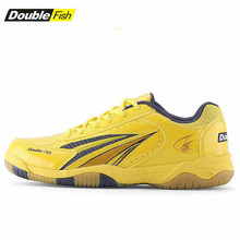 2017 New Arrival DOUBLE FISH Genuine table tennis Shoes For Men Women Breathable Anti-slippery ping pong Sneakers