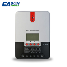 MPPT Solar Charge Controller 20A 24V EASUNPOWER Solar Controller LCD Solar Regulator Solar Charger 12V Battery Charge Controller(China)