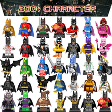 1 piece 2017 Ninjago Kids toy Marvel avengers building blocks anime action figure toys harley quinn batman spiderman Deadpool - MomBaby Toy Store store