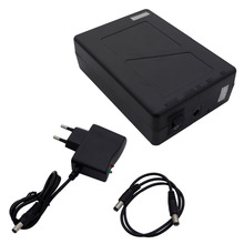Eco-Worthy 2800mAh DC Super Rechargeable Li-ion Battery Pack for 12V Devices Black Color(China)