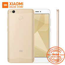Global Version Original Xiaomi Redmi 4X Smartphone 3GB RAM 32GB Snapdragon 435 Octa Core CPU 13MP Camera MIUI8.1 4100mAh