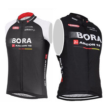 Bora Argon 2016 Tour de France pro team men's cycling jersey sleeveless vest sportwear MTB ropa maillot ciclista bike clothing
