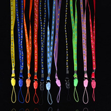 Lovely 10pcs/lot Lanyards For Mobile Phone Neck Straps Keychain Necklace ID Card Working Card Badge Holde Neck Cell Phone Straps(China)