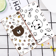 Lovely 3D Pandas Deer Case Cover For OPPO Find 5 X909 Finder X907 Cute Pig Flower Relief Hard Phone Shell For OPPO Find 7 X9007