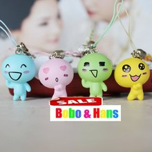 New Cute cartoon Doll lovers charm / mobile phone strap / Wholesale