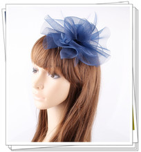 PROMOTION Ladies cheap feather flowers  fascinators for wedding hats bridal hair accessories kentucky derby cocktail hats P06