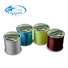 Agepoch 500 m Japan NT30 Material Leader Lead Nylon Monofilament Fishing Line Rope The Peche  Cord Wire Peche Carp Winter Thread