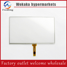 New 5 inch 4Wire Resistive Touch Panel Digitizer Screen For prestigio geovision 5250 Free shipping