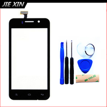 Tools+3M Sticker New Replacement Touch Screen For Fly IQ446 Gionee GN708 iq 446 Cell Phone Digitizer Front Glass free shipping