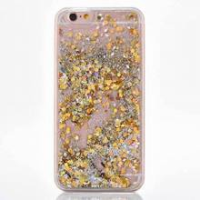 Hot Glitter Dynamic Liquid Diamond Quicksand Hard Case Cover For iPhone 7 For iphone7 7 Plus Transparent Clear Phone Case YC1407