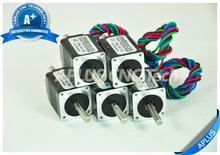 5 PCS NEMA 8 Micro Stepper Motor, 1.96oz-in 28mm 0.6A, 1.8degree, 4wires