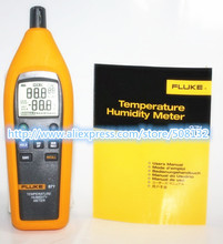 Fluke 971 Temperature Humidity Meter Tester Psychrometer 99 Record Capacity(China)