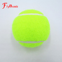 1PCS Tennis Balls Synthetic Wool Fiber Rubber Outdoor Sports Standard size Entry-level Beginner Training Good Bounce6.3cm L382(China)