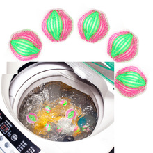6Pcs/Pack 35mm Plastic Magic Hair Removal Laundry Ball Reusable Prevent Tangles Personal Care Washing Machine Cleaning Ball(China)