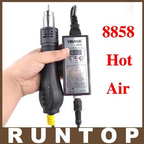 High quality 110/ 220V Portable BGA Rework Solder Station Hot Air Blower Heat Gun YouYue 8858<br><br>Aliexpress