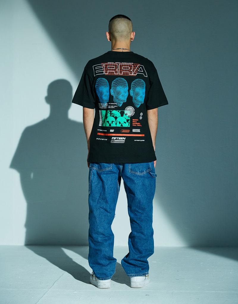 3D Line Printed Tshirts 1