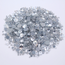 2500pcs Mix Color Mix Size Crystals Rhinestones Hotfix Flatback Crystals And Stones Iron On Rhinestone For Clothes Free Shipping