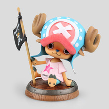 NEW hot 10cm One piece Tony Tony Chopper barrel action figure collection toys Christmas gift(China)