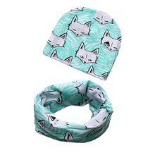 Beautiful Star Fashion Wholesale Boys Girls Infant Hats Scarf Set 2 Pcs In Set Baby Hat Baby Cap