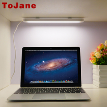 ToJane USB LED Table Lamp Portable Led Reading Desk Lamp Night Light Strip Bar Light Wall Light Closet Showcase Bookcase Lamp(China)
