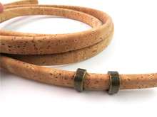 30pcs Round flat Slider  Zamak Antique Brass flat leather bracelet findings Jewelry Findings & Components