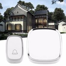 A101 Practical ABS 36 Melody Wireless Doorbell  Simple Fashion Design Door bell Home Security Digital Wireless Door Bell Device
