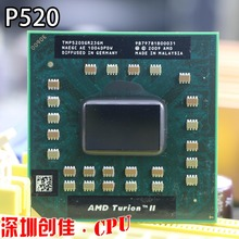 original AMD Turion II Dual-Core Mobile P520 - TMP520SGR23GM notebook CPU processors P340 P360 N660 P960