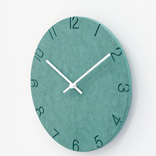 New Arrival MDF Wooden Wall Clock Slient  Vintage Rustic Shabby Clock Art Watch Home Decor Relogio de parede for Gift Hot Sellin