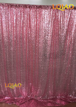 7ftx7ft Pink Gold Sequin Backdrops Photo Booth Backdrop Wedding Photobooth Props Shimmer Curtain Wedding Backdrop Decoration