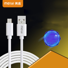 MEIYI Micro USB Cable Fast Charging Mobile Phone Android Cable 2m 3m USB Data Charger Cable USB Cord Wire for Samsung HTC LG