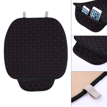 Auto Car Seat Covers Breathable Anti-slip Car Seat Cushion Mat Pad Accessories Car-styling For Car Office Home 3 Colors Chair(China)
