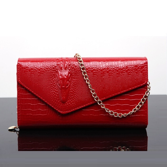 3D Alligator ladies clutch bag luxury evening bags Clutches Fashion chain women shoulder bag Handbags bolsas Free shipping<br><br>Aliexpress