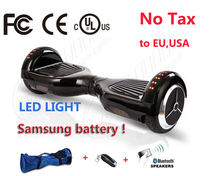 Buy 2 wheel Led light Electric scooter Bluetooth/Remote/Bag Hoverboard Electric Skateboard Standing Drift Board hoverboard for $240.00 in AliExpress store