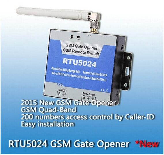 200 users RTU5024 GSM Garage Swing sliding Gate door Opener Relay Switch Remote Access Control Door Opener server controller<br>