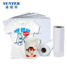 A4 Size Ployester Fabric Sublimation Transfer Printing Paper for Ceramics Mark Cup and Clothing