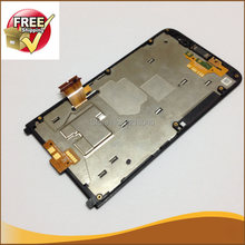 1pcs Original CDMA Verizon Mark For Blackberry Z30 LCD Display Touch Screen Digitizer Assembly Frame Black Color Free Ship(China)