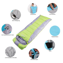 (RU Stock)Adult Thickened Rectangular Couples Camping Indoor Siesta Spring And Winter Light Checked Cloth Sleeping Bag sent(China)